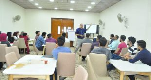 University of Kufa organizes workshops on communication skills for students of the last stages