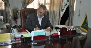 اختيار السيد عميد كلية الطب بجامعة الكوفة عضواً في هيئة تحرير المجلة العراقية الوطنية الطبية