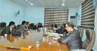 اللجنة الوزارية الخاصة بجودة المختبرات التعليمية تزور كليتنا