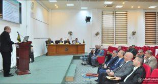 كلية الطب تستضيف مناقشات طلبة المجلس العراقي لاختصاص طب وجراحة الانف والاذن والحنجرة