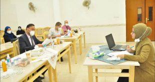 كلية الطب بجامعــــة الكوفـــــة تناقــــش بحوث طلبة الدبلوم العالي في طـــب وجراحة العيون