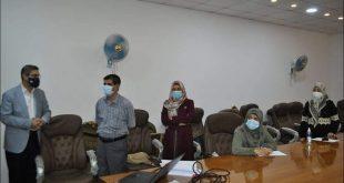 كلية الطب تستضيف امتحانات طلبة المجلس العراقي لاختصاصي طب الأسرة وطب المجتمع