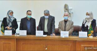 كلية الطب تنظم مناظرة طلابية للملتقى الثقافي الطلابي الأول للحوار.
